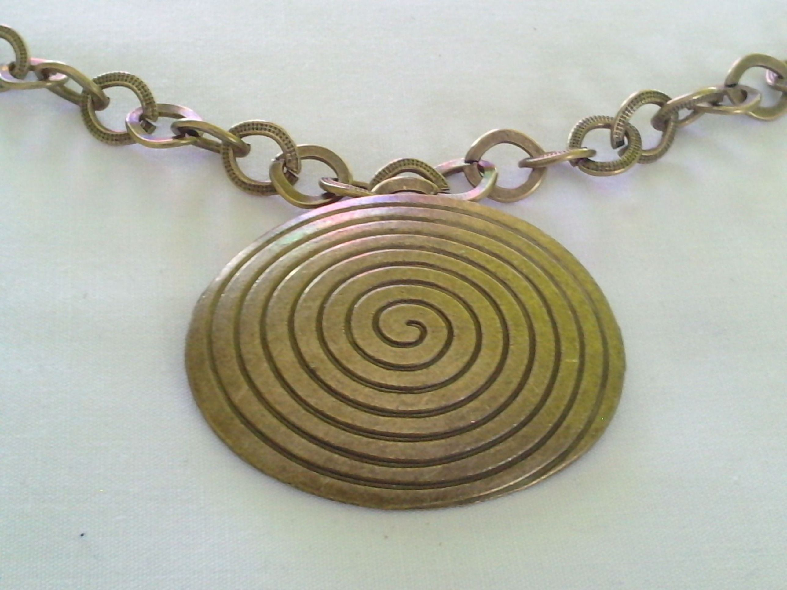 by copper on pendant earthartisanjewelry wire etsy wrapped spiral pin